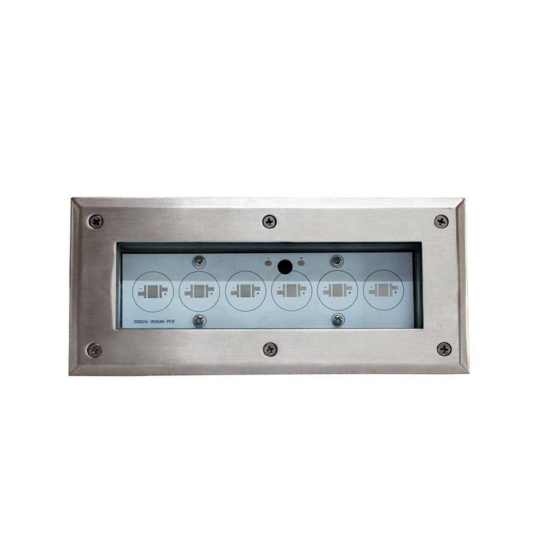 led lights housing LED Underground light housing waterproof light housing 6005T6