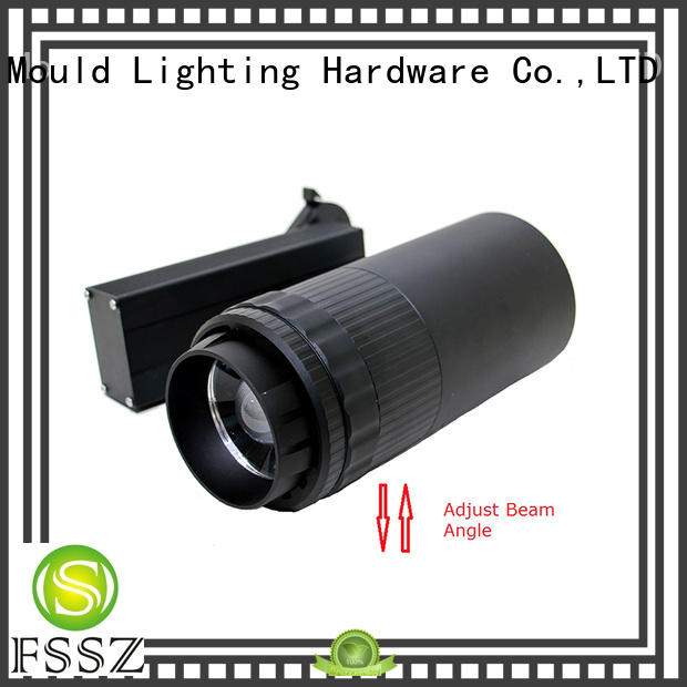 FSSZ tracking led track light fittings wholesale for counters