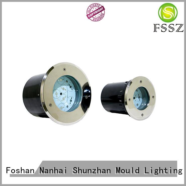 FSSZ LED light housing 6005t6 outdoor ground lighting fixtures customized for park