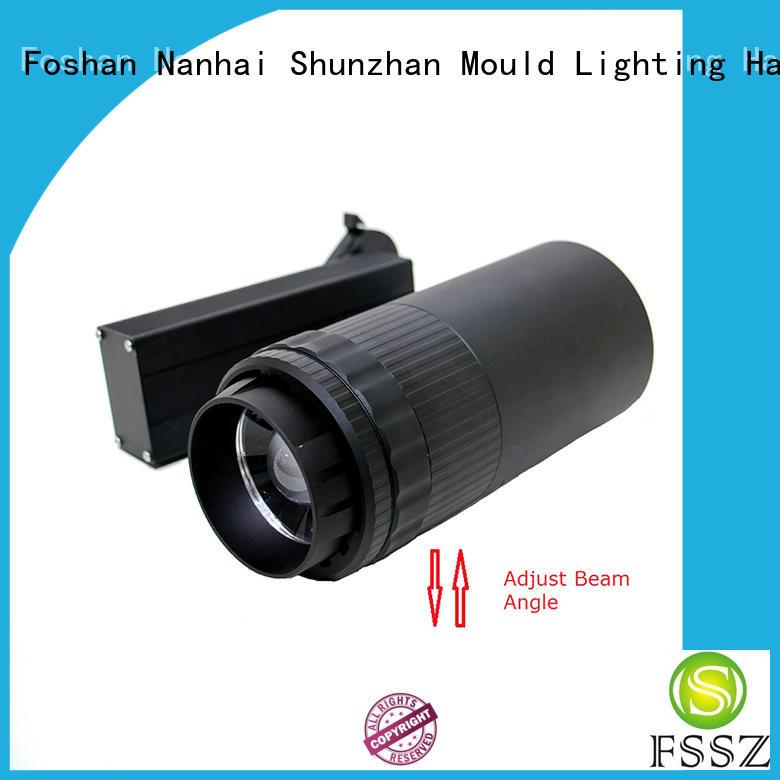 FSSZ led track light housing only factory price for halls