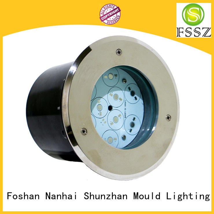 corrosion resistance in ground light fixtures series for subway