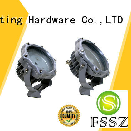 stainless flood light housing parts with good price for dance hall