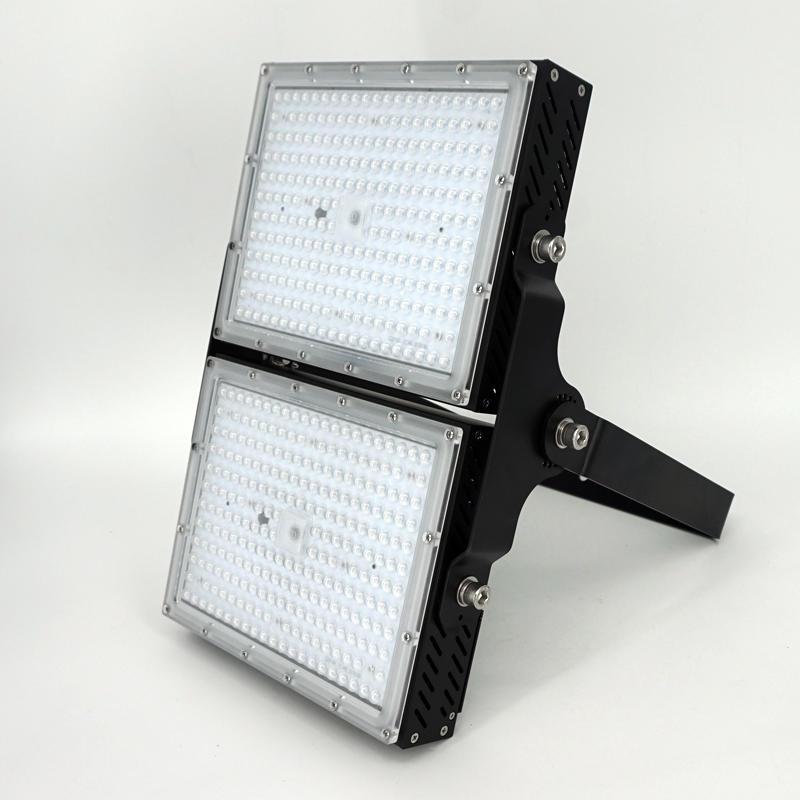 waterproof light housing outdoor lighting fixture 320w ip65 die cast aluminum led flood light housing