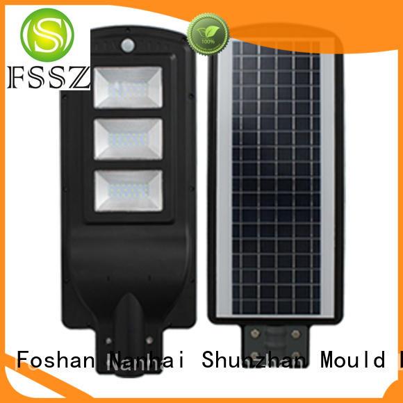 FSSZ efficient solar led lights factory for home