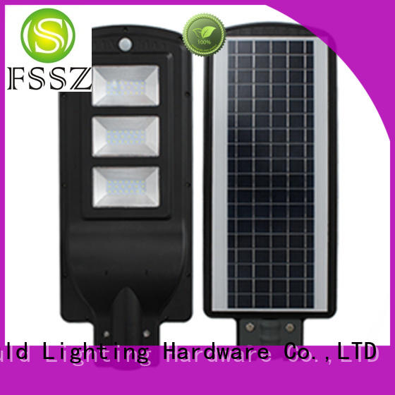 FSSZ popular solar garden lights factory for home