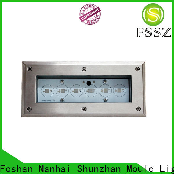 pressure resistance inground lighting fixtures customized for park